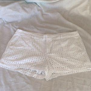 Gap Lacey white shorts size 16